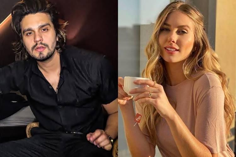 Após suspeita de affair com Giulia Be, Luan Santana é visto com Miss - Foto: Reprodução/Instagram/montagem ÁREAVIP