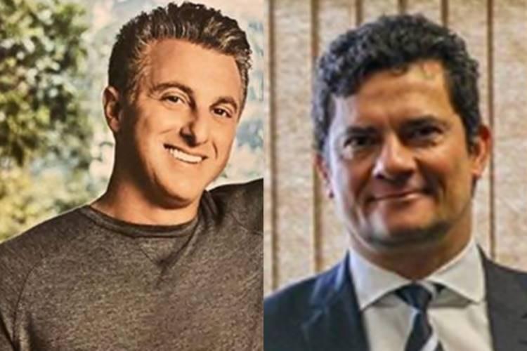Luciano Huck negocia aliança eleitoral com Moro para disputa da Presidência em 2022 - Foto: Reprodução/Instagram @lucianohuck e @sf_moro/montagem Área VIP