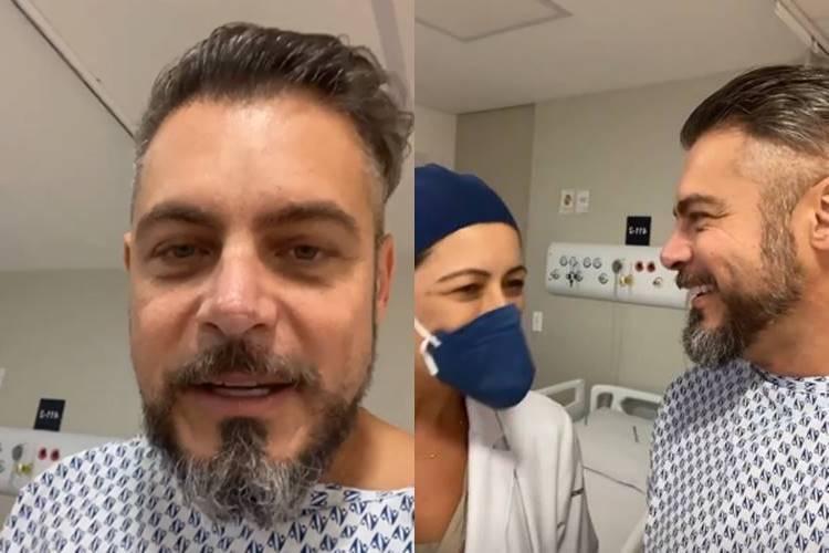 Cinco dias após cirurgia de esposa, Luigi Baricelli passa por operação - Foto: Reprodução/Instagram@luigibaricelli