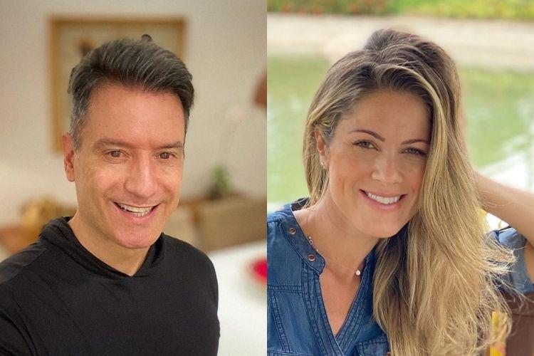 Luiz Carlos Jr e Jacqueline Brazil - Reprodução: Instagram (Montagem: Área VIP)