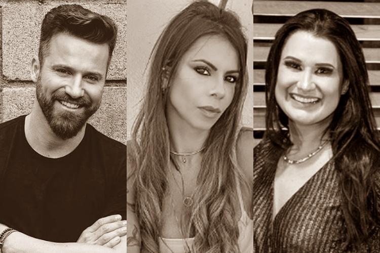 Após acusação de traição, sertanejo Marlon e Maria Clara prestam queixa contra Letícia Oliveira - Foto: Reprodução/Instagram/Montagem ÁreaVIP