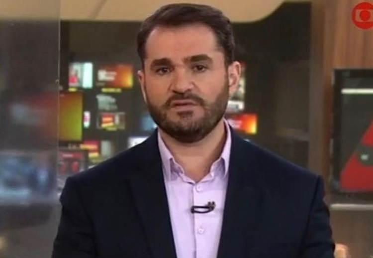 Apresentador da Globo recebe ameaças de morte e ganha apoio dos colegas de emissora