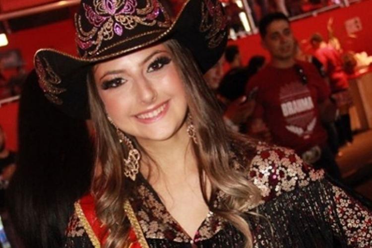 Maria Eduarda Catão princesa do rodeiro de Jaguariúna 2019 foto reprodução Instagram