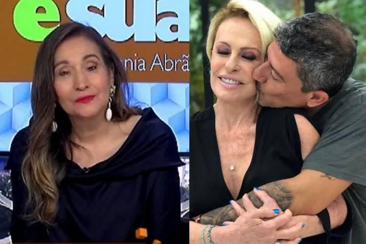 Ao vivo, Sonia Abrão rebate enxurrada de críticas envolvendo polêmica com Tom Veiga