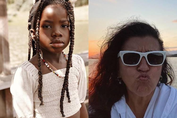 Giovanna Ewbank revela amizade entre Titi e Regina Casé