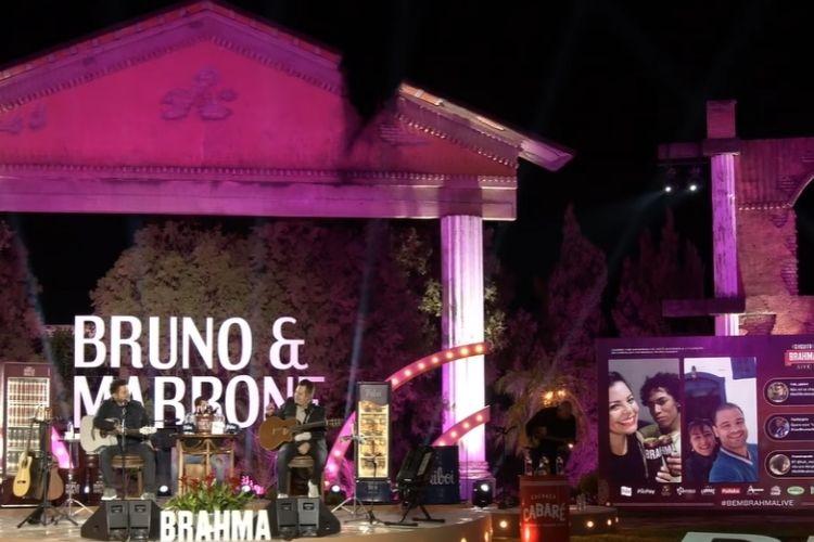 A live de Bruno e Marrone - Reprodução: YouTube