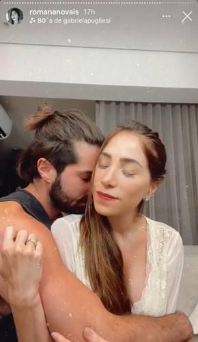 Alok e Romana Novais/ Instagram