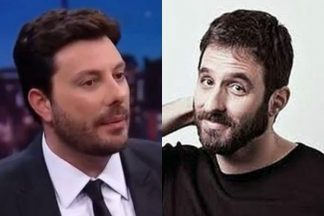 Danilo Gentili e Rafinha Bastos - Reprodução;; SBT e Instagram (Montagem: Área VIP)