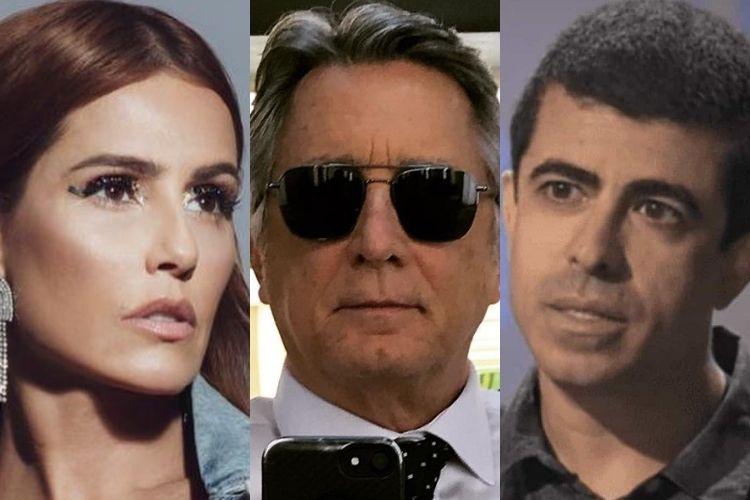 Deborah Secco, Marcius Melhem e Eduardo Galvão - Reprodução: Instagram (Montagem: Área VIP)