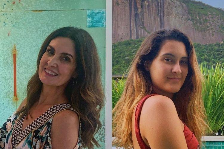 Fátima Bernardes e Bia Bonemer - Reprodução: Instagram (Montagem: Área VIP)