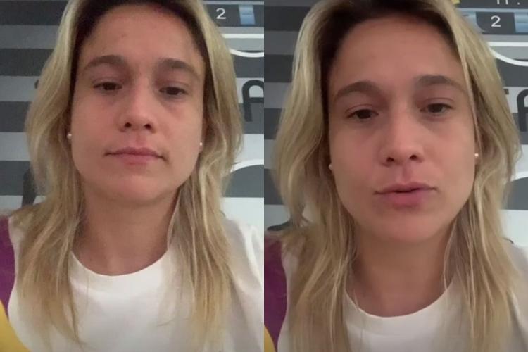 Fernanda Gentil testa positivo para covid-19