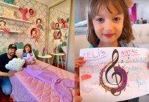 Fernando Zor surpreende filha caçula com quarto temático da 'Pequena Sereia' - Foto: Reprodução/Instagram/ Montagem Área VIP