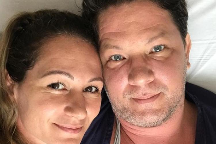 Julia Frias e marido Mario Frias foto reprodução Instagram