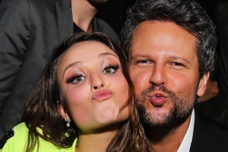 Larissa Manoela celebra aniversário do ator e amigo Selton Mello