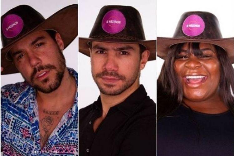 Lipe Ribeiro, Mariano e Jojo Todynho - Reprodução: PlayPlus