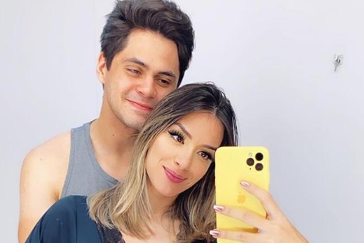 Lucas Veloso e Géssica Muniz foto reprodução Instagram
