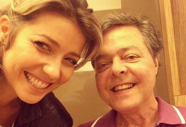 Luiza Possi e o pai, Líber Gadelha - Instagram
