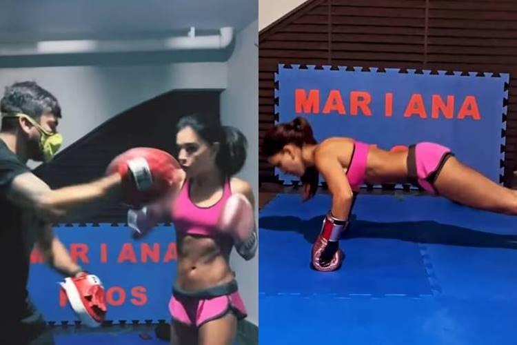 Após fim de noivado, Mariana Rios dá duro em treino de boxe - Foto: Reprodução/Instagram