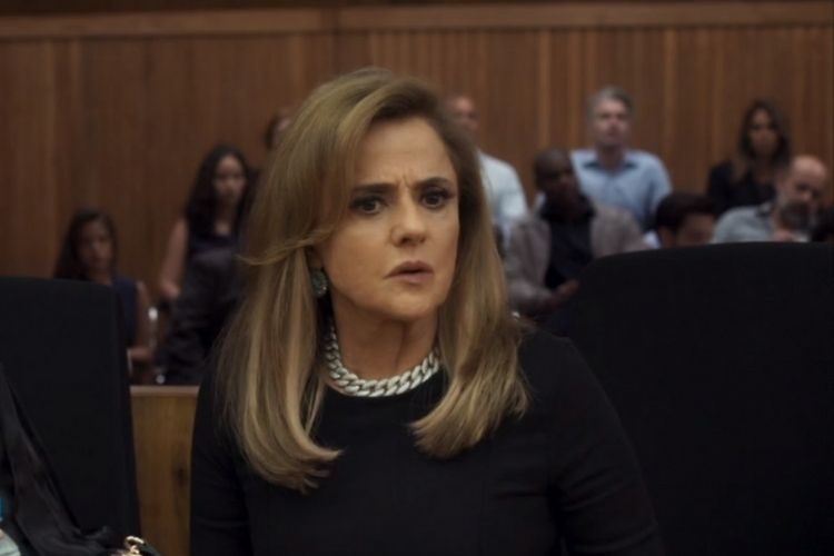 A atriz Marieta Severo - Reprodução: TV Globo
