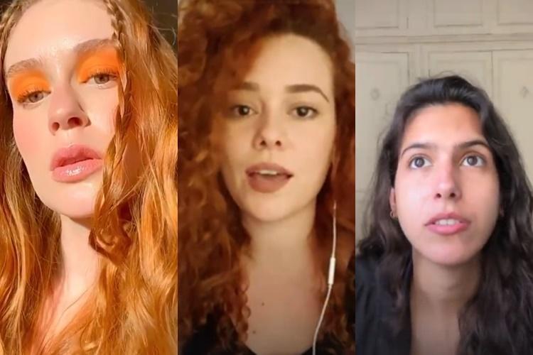Em redes sociais, Marina Ruy Barbosa desabafa sobre assédio: ''me arrepia'' - Foto: Reprodução/Instagram/Montagem Área VIP