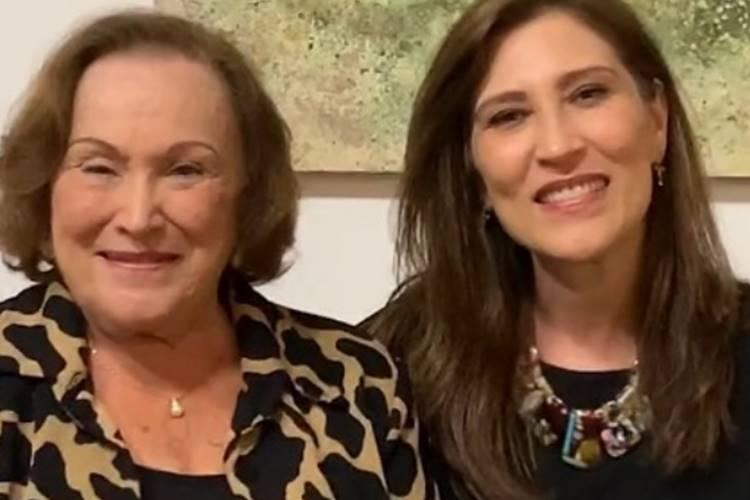 Beth Goulart usa redes sociais para dar notícias da mãe, Nicette Bruno, intubada com Covid-19: ''Quadro delicado'' - Foto: Reprodução/Instagram