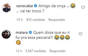 Juntos ou não? Maiara comenta em foto de Fernando Zor e fãs ficam confusos - Foto: Reprodução/Instagram