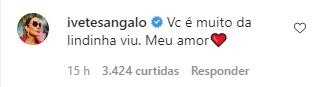 Após críticas a rugas de Xuxa, Ivete Sangalo elogia apresentadora: ''Você é muito da lindinha'' - Foto: Reprodução/Instagram