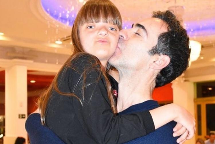"""Cesar Tralli faz linda declaração a Rafa Justus, sua enteada: """"Tenho a felicidade enorme de ser seu paidrasto"""""""