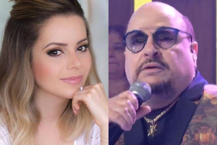 Sandy e Paulinho - Reprodução: TV Globo e Instagram (Montagem: Área VIP)