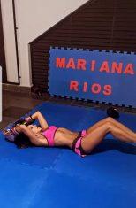Após fim de noivado, Mariana Rios dá duro em treino de boxe - Fotos: Reprodução/ Instagram