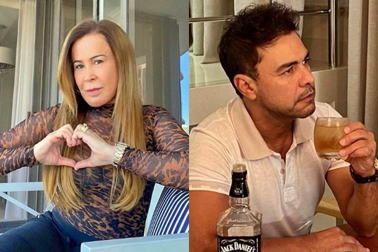 Zilu Godoi revela que ficou de luto após se separar de Zezé Di Camargo: ''Fui internada' - Foto: Reprodução/ Instagram/ Montagem Área VIP