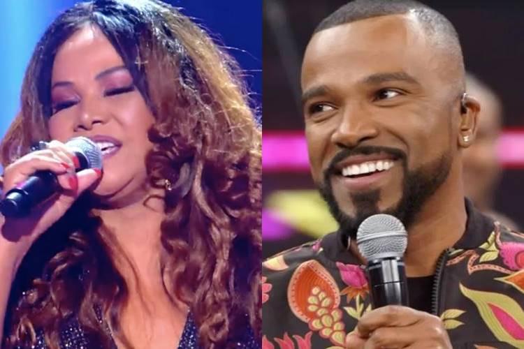 Mãe de Alexandre Pires surpreende ao soltar a voz no ''The Voice +'' - Foto: Reprodução/Rede Globo/ Montagem Área VIP