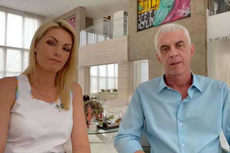 Ana Hickmann e Alexandre Corrêa/ Reprodução YouTube