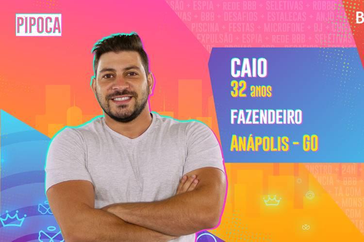 BBB21 - Caio/TV Globo