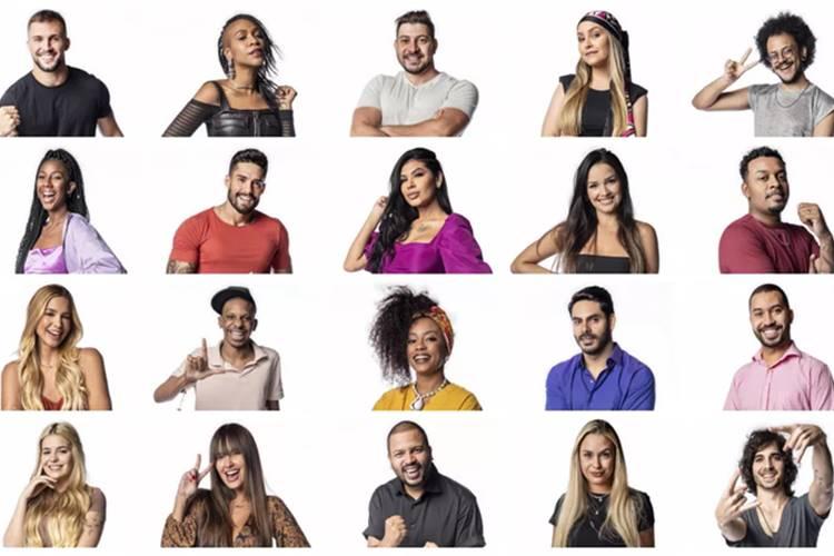 BBB21 - Participantes (Reprodução/Globo)