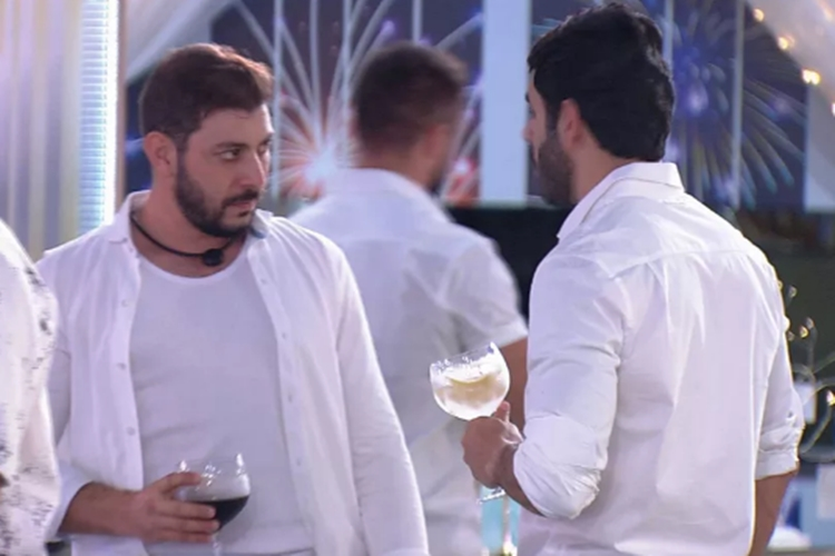 Caio e Rodolpho foto reprodução GloboPlay