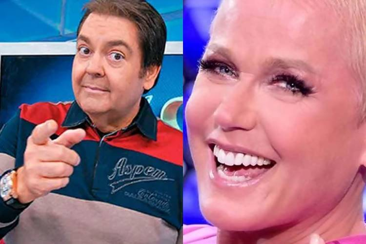 Após notícia de que Faustão deixará a Globo, internautas torcem para que Xuxa o substitua - Foto: Reprodução/Rede Globo/ Montagem Área VIP