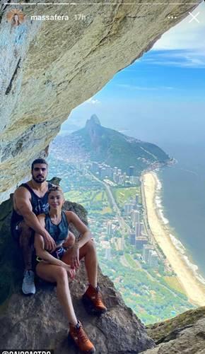 Grazi Massafera e Caio Castro/ Instagram