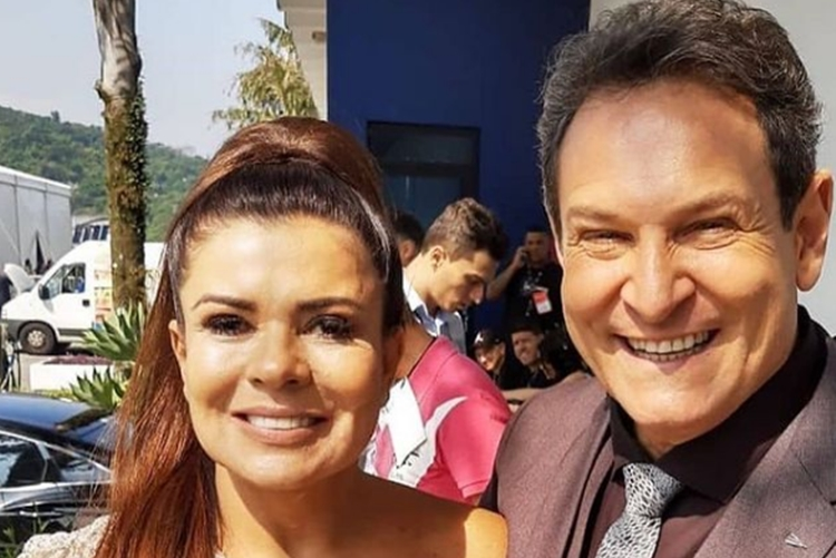 Mara Maravilha e Luis Ricardo foto reprodução Instagram