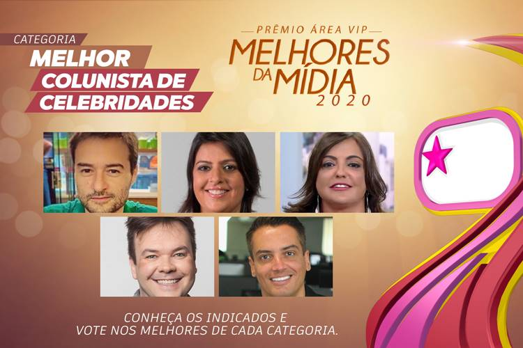 Qual foi o Melhor Colunista de Celebridades de 2020? – Vote no Prêmio Área VIP!