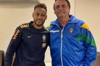 Bolsonaro fala com Neymar por chamada de vídeo e pergunta sobre ''contatinhos'' - Foto: Reprodução/Instagram