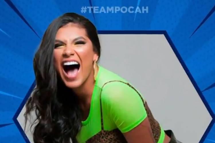 BBB21: Com 11,5milhões seguidores nas redes sociais, Pocah já tem torcida garantida no reality - Foto: Reprodução/Rede Globo