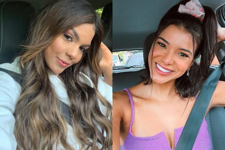 Tays Reis e Jakelyne Oliveira foto reprodução Instagram