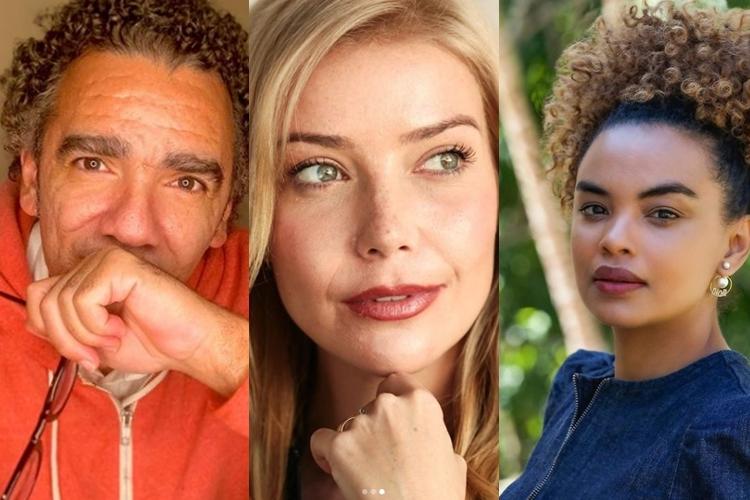 Wilson Simoninha, Luiza Possi e Lucy Ramos foto reprodução Instagram e montagem Area Vip