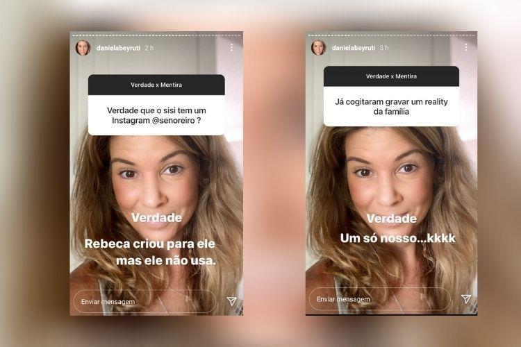 A filha de Silvio Santos - Reprodução: Instagram (Montagem: Área VIP(