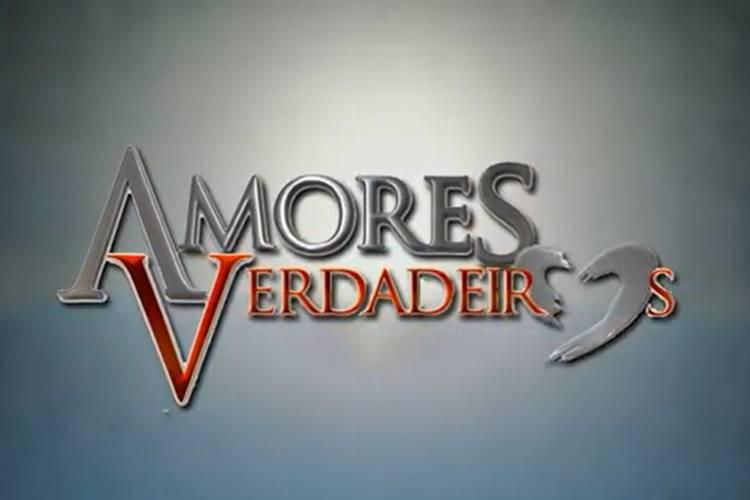 Amores Verdadeiros - logo (Divulgação/SBT/Televisa)