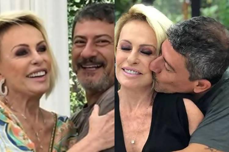 """No dia do aniversário de Tom Veiga, Ana Maria lamenta saudades do amigo: """"Que aperto no peito"""" - Foto: Reprodução/ Rede Globo/ Montagem Área VIP"""