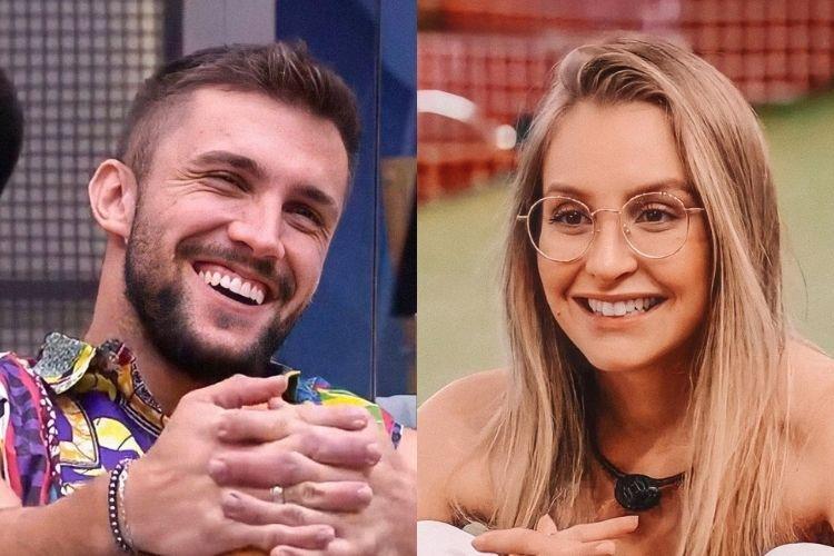 Arthur e Carla Diaz - Reprodução: Gshow (Montagem: Área VIP)