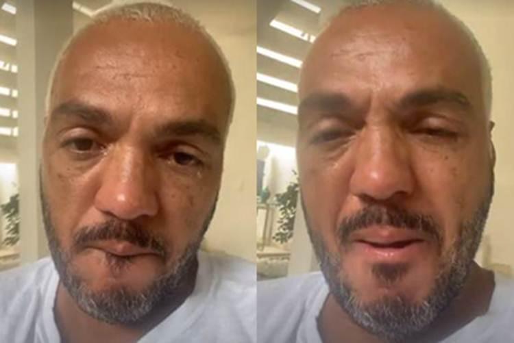 Belo não segurou o choro em rede social - Instagram