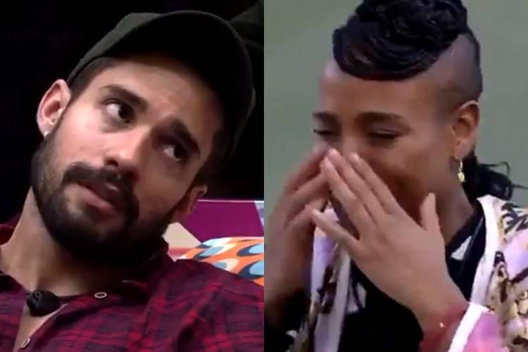 BBB 21: Após descobrir que Karol Conká acha que rolou 'clima' entre eles, Arcrebiano debocha - Foto: Reprodução/ Rede Globo/ Montagem Área VIP